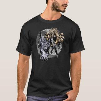 Camiseta del símbolo de Yin Yang de la fantasía