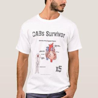 Camiseta del superviviente de la cirugía de puente