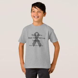 Camiseta del superviviente del tumor cerebral de