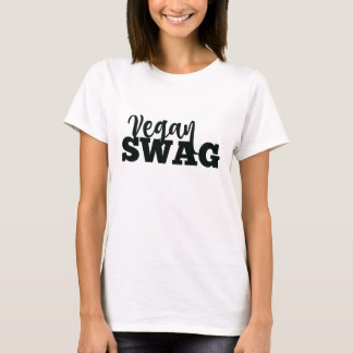 Camiseta del SWAG del VEGANO