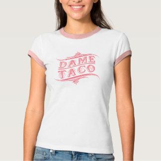 Camiseta del Taco del vintage - camisa chicana