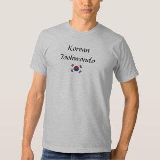 Camiseta del Taekwondo del coreano
