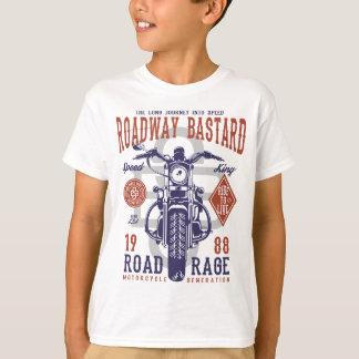 Camiseta del TAGLESS® de los niños del bastardo