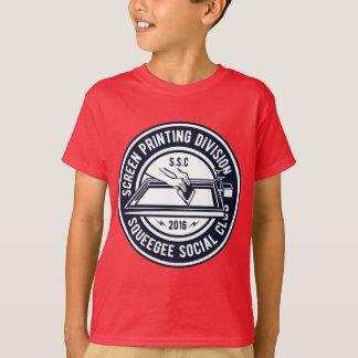 Camiseta del TAGLESS® de los niños del club social