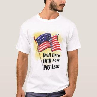 Camiseta del taladro