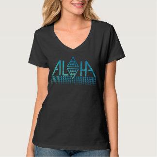 Camiseta del Tapa del diamante de la hawaiana de