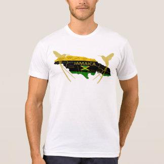 Camiseta del tarareo del oro de los colores de las