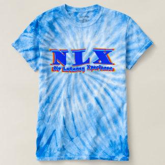 Camiseta del teñido anudado de NLX