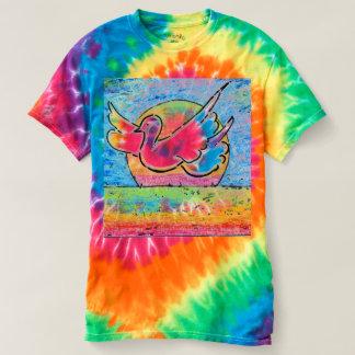 Camiseta del teñido anudado del teñido anudado de