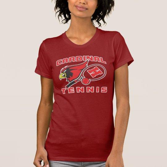 Camiseta del tenis de los cardenales de Harlingen