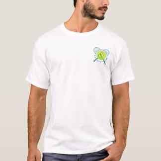 Camiseta del tenis del club de campo de