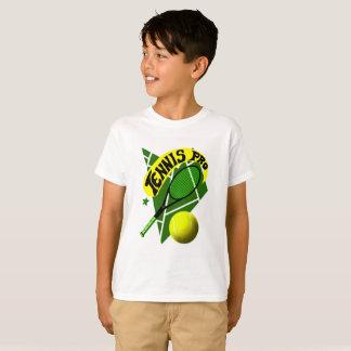Camiseta del tenis para los muchachos