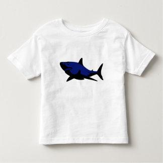Camiseta del tiburón azul