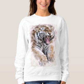 Camiseta del tigre del rugido