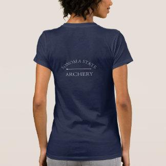 Camiseta del tiro al arco del SSU de las mujeres