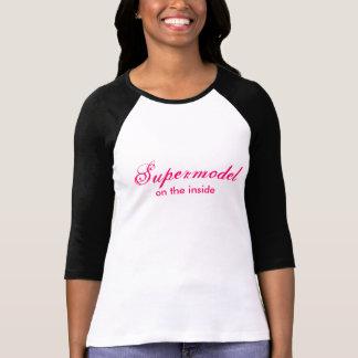 Camiseta del top model