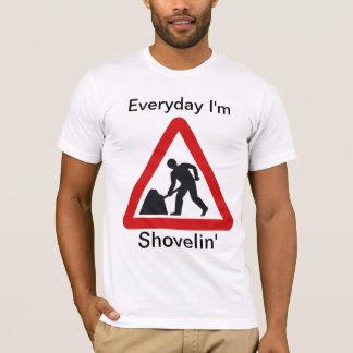 Camiseta del trabajo del fiesta