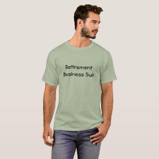 Camiseta del traje de negocios del retiro