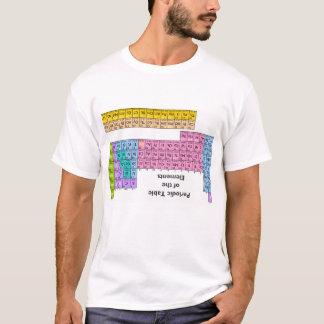 Camiseta del tramposo de la tabla periódica