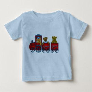 Camiseta del tren del peluche