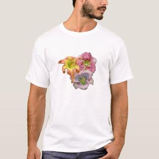 Camiseta del trío del Daylily