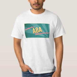 Camiseta del turismo del Aba