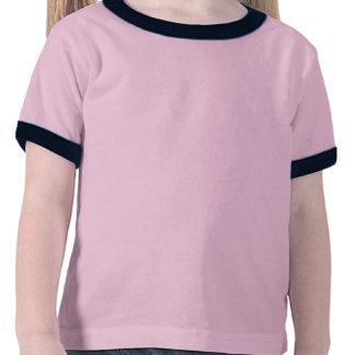 Camiseta del unicornio de la niña pequeña