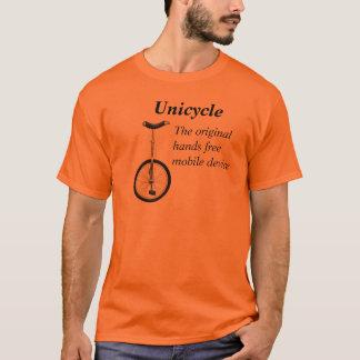 Camiseta del Unicycle de los hombres