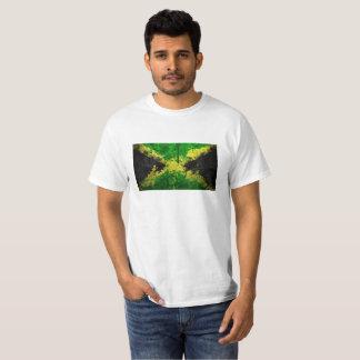 Camiseta del valor con la bandera de Jamaica