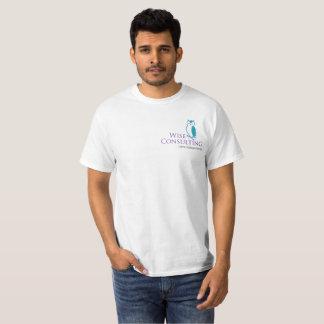 Camiseta del valor de los hombres sabios
