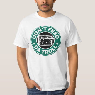 Camiseta del valor del duende del Internet