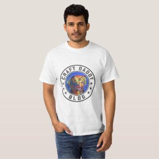 Camiseta del valor del logotipo del blog del papá