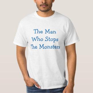 Camiseta del valor del tapón del monstruo