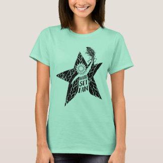 Camiseta del vegano de Seitan del saludo