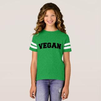 camiseta del vegano para los chicas