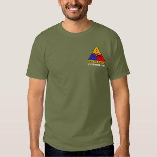 Camiseta del vehículo de lucha de la infantería