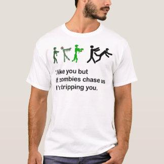 Camiseta del viaje de los zombis