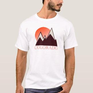 Camiseta del vintage de Colorado