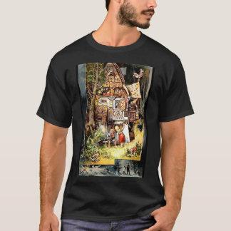Camiseta del vintage de Hansel y de Gretel