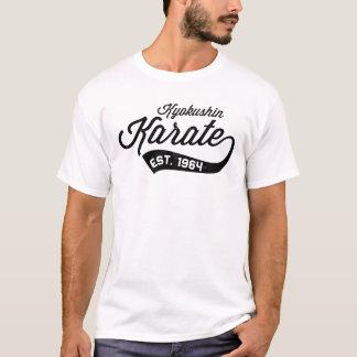 Camiseta del vintage del karate de Kyokushin