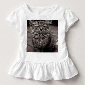 Camiseta del volante del niño