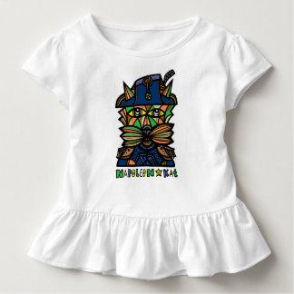 """Camiseta del volante del niño de """"Napoleon Kat"""""""
