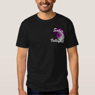 Camiseta del voleibol del sable