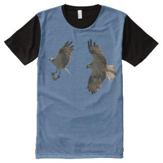 Camiseta del vuelo de la fauna de los animales de