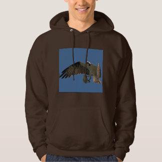 Camiseta del vuelo de la fauna de los pescados del