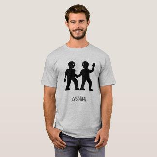 Camiseta del zodiaco de los géminis