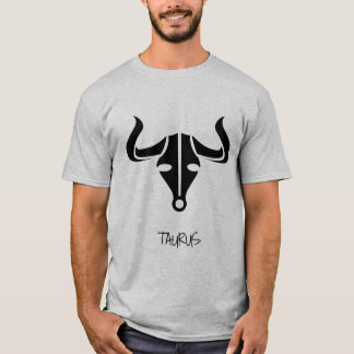Camiseta del zodiaco del tauro