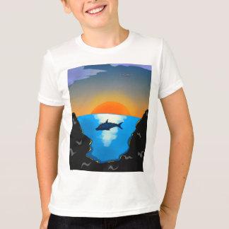 Camiseta Delfín en el mar