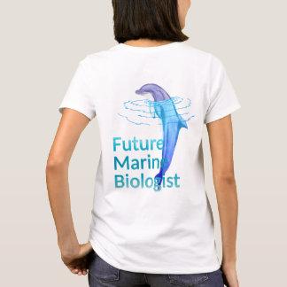 Camiseta Delfín marino futuro del océano del biólogo