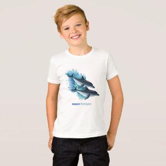 Camiseta Delfínes en las ondas